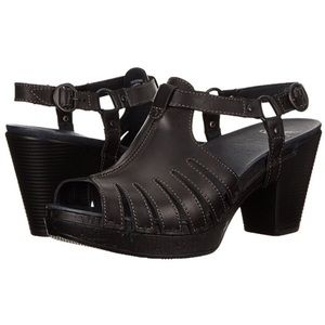 "Dansko Shoes - Dansko ""Randa"" Leather Dress Sandals"