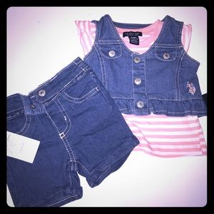U.S. Polo Assn. Other - 3/6 month US Polo Girls