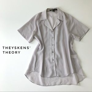 Theysken's Theory Tops - ⭐️ Theyskens' Theory blouse, size petite