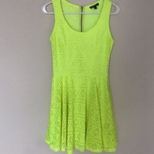 Express Neon fit and Flare