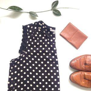 {NEW} Daniel Rainn Poppins Crochet Trim blouse