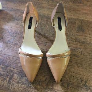 "Zara pointy d'orsay 3"" heels"