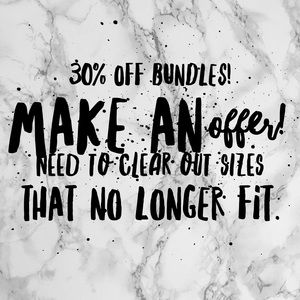 Other - Closet is 30% off a bundle!