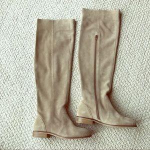 Seychelles Shoes - Seychelles- Herd OTK Boot Sand Suede