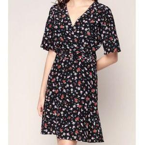 The Kooples Dresses & Skirts - The Kooples Mix Print Floral Dress