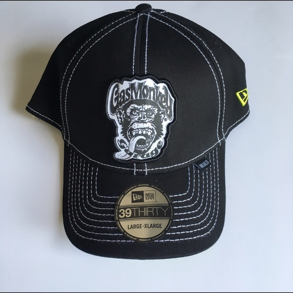bfb8d55a0ce NWT Gas Monkey Garage L XL Fitted Hat