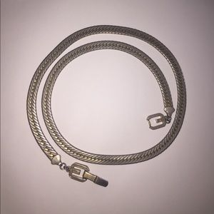 Givenchy Other - Vintage Givenchy herringbone Necklace