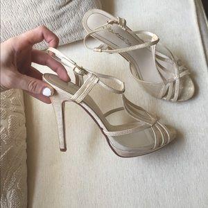 Caparros Shoes - Gold Caparros Heels