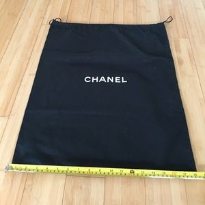 AUTHENTIC CHANEL DUSTBAG FOR CHANEL BAGS