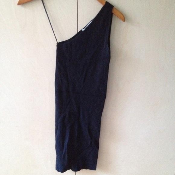 Zara Dresses & Skirts - Zara knit slinky 1 shoulder dress sz S price firm