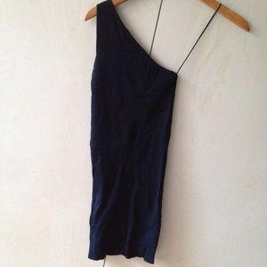 Zara Dresses - Zara knit slinky 1 shoulder dress sz S price firm