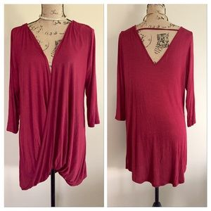 Macy's Tops - NWT twist front tunic top