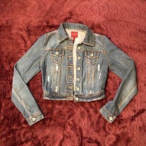 Highway Jeans Jackets & Blazers - XS distressed denim jacket