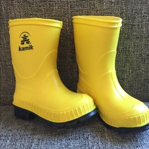 Kamik Other - Toddler Kamik Yellow Rain Boots