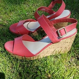 Etienne Aigner Shoes - NWOB Coral Wedges