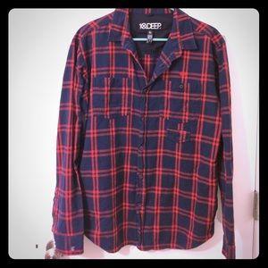 10.Deep Other - 10.Deep men's flannel