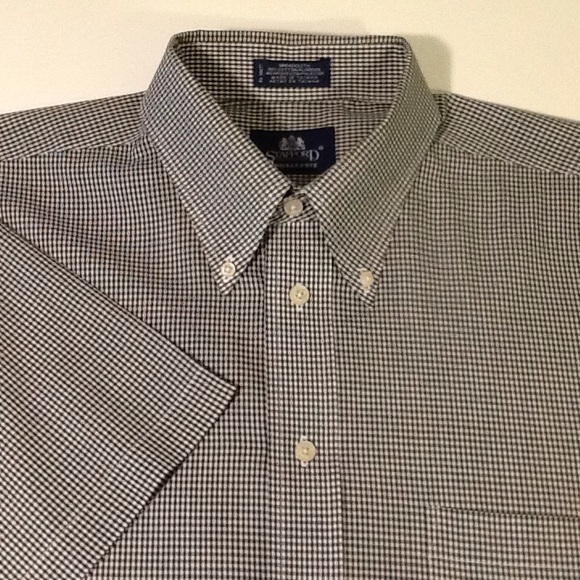 67 off stafford other stafford men 39 s short sleeve for Stafford white short sleeve dress shirts