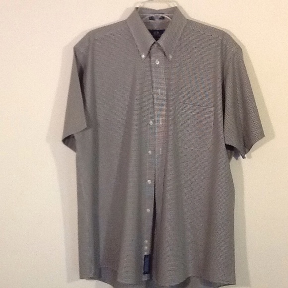 67 off stafford other like new stafford men 39 s short for Stafford white short sleeve dress shirts