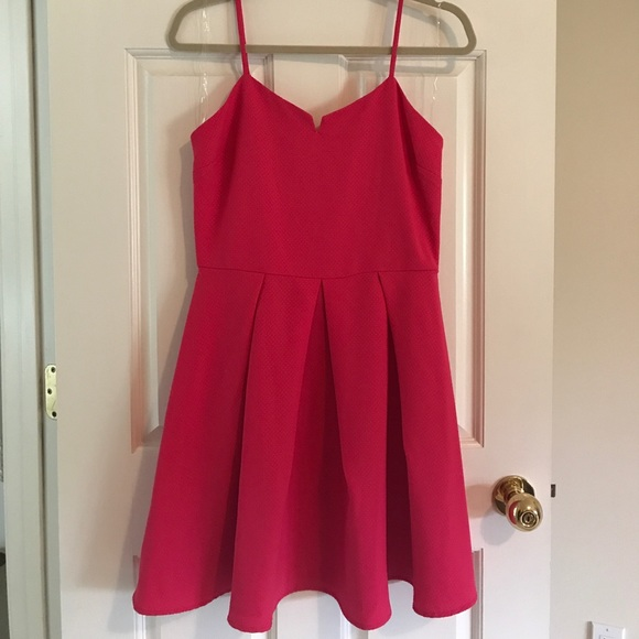 Lush Dresses & Skirts - NWT Hot pink Dress