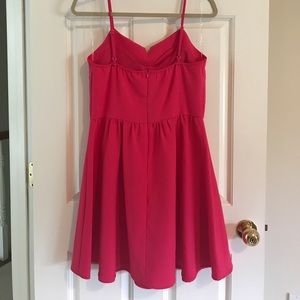 Lush Dresses - NWT Hot pink Dress