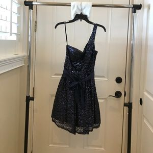 way-in clothing co Dresses & Skirts - Navy Dress *fits as a 4*