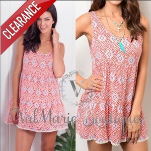 CLEARANCE Mini Festival Dress / Tunic Top