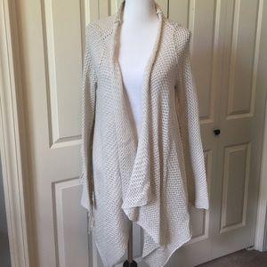 Loose weave tasseled billabong cardigan