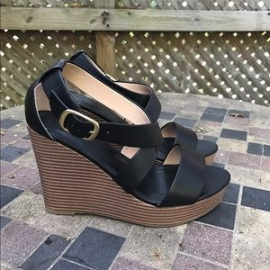 Banana Republic Shoes - BR Black Strappy Wedges