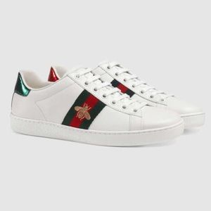 Gucci Shoes - UA Gucci Ace embroidered low-top sneakers