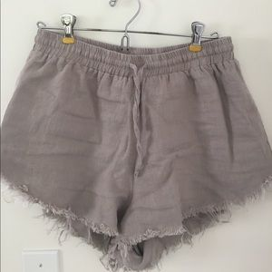 Sincerely Jules Pants - Sincerely Jules linen shorts- run small!