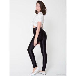 American Apparel Pants - American Apparel Black Disco Pants