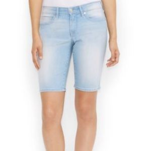 levi's juniors denim bermuda shorts