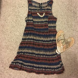 Dresses & Skirts - Aztec Print Sundress size M