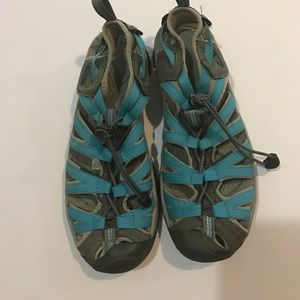 Finders Keepers Shoes - Blue Keens size 9