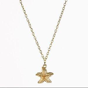 J. Crew Jewelry - J. Crew starfish necklace