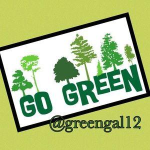 GO GREEN @greengal12