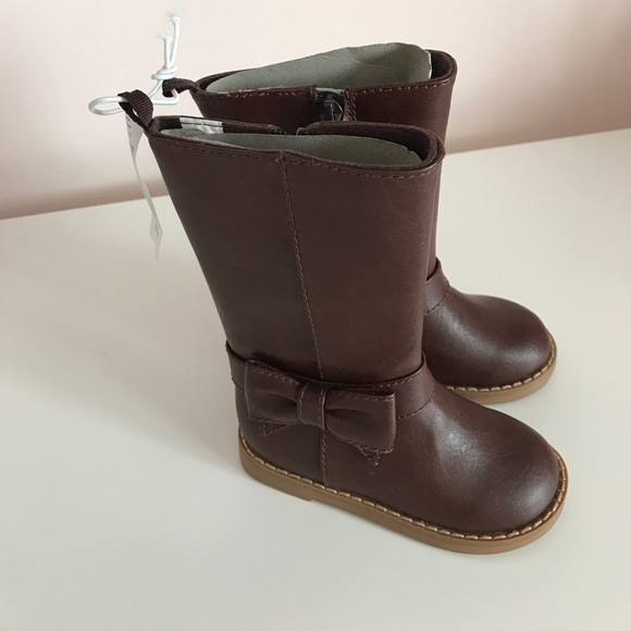 c1dc71faa8565 New❗️Toddler BABY GAP Bow Detail Tall Boots