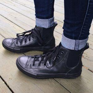 Converse Shoes - ✨HP✨ CONVERSE ALL STAR HI CHELSEA RUBBER