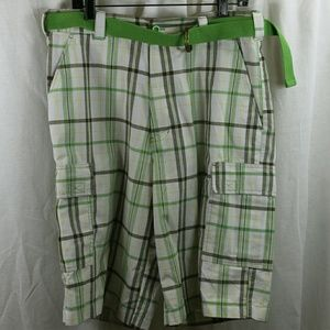PLAID GALAXY Other - PLAID GALAXY SHORTS W BELT SIZE 34 NWT