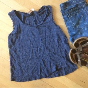 St. Tropez Tops - St. Tropes West 100% linen tank