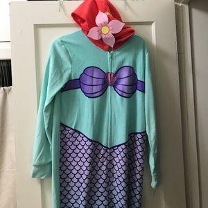 Disney Other - NWT Little Mermaid Adult Onesie