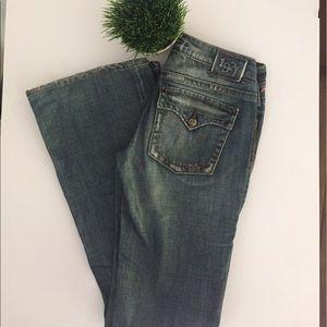 1921 Pants - 1921 Medium Distressed Boot Cut Jean