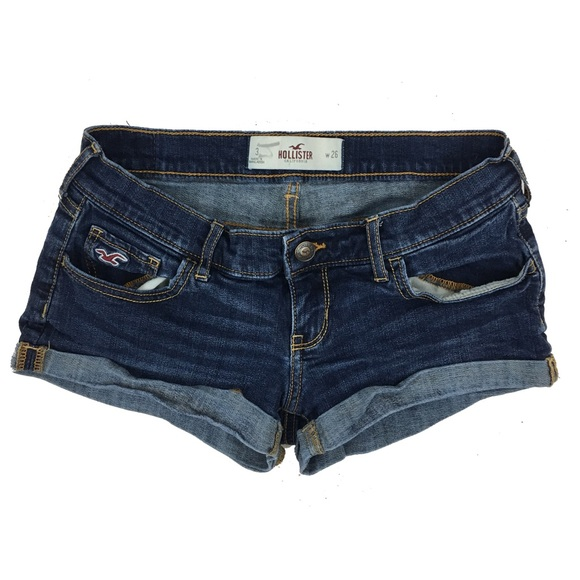 hollister jean shorts - photo #11