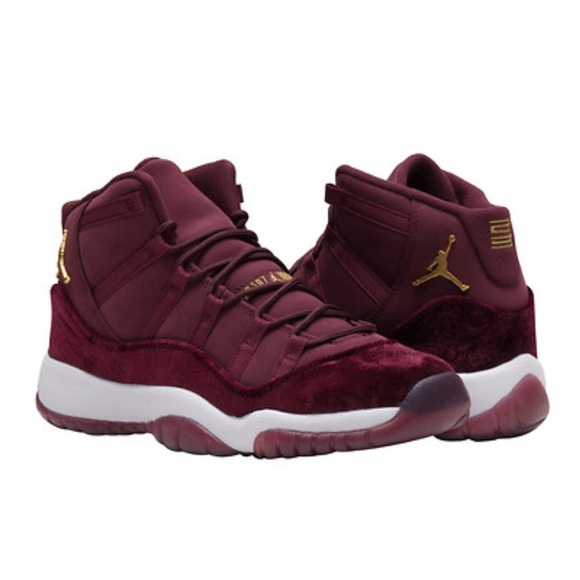 best sneakers 50338 82334 Jordan Retro 11 Burgundy Velvet NWT