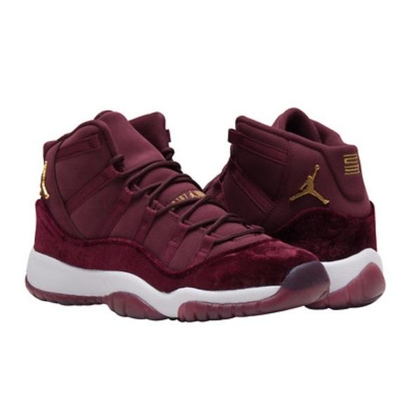 best sneakers b9a2e a53fa Jordan Retro 11 Burgundy Velvet NWT