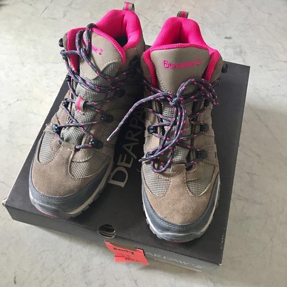 5369f5b715d Bear Paw Buckhorn WP Tan/Pink Hiking Boots 7