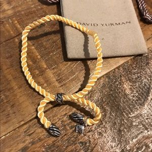 David Yurman Jewelry - Yellow David Yurman Silk Cord Bracelet