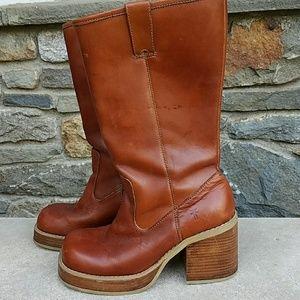 Frye Shoes - Frye  vintage campus platform boots
