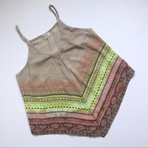 Soulmates Tops - Soulmates handkerchief bandana tribal snakeskin