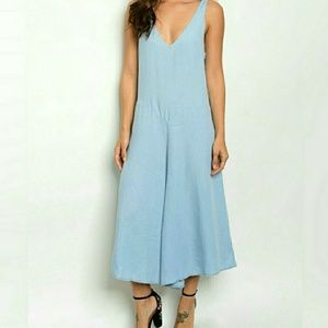 Threadzwear Dresses & Skirts - ❣Chambray Jumpsuit❣